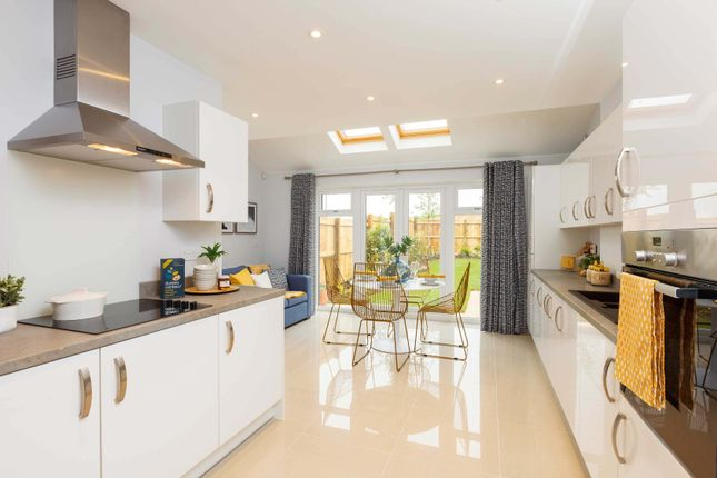 """Thumbnail Semi-detached house for sale in """"The Acton"""" at Oakley Wood Road, Bishops Tachbrook, Leamington Spa"""