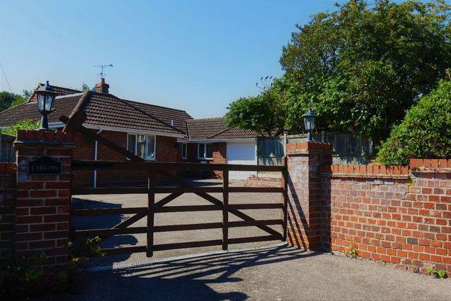 Thumbnail Bungalow for sale in School Crescent, Kedington, Haverhill