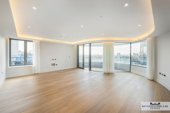 Thumbnail Flat to rent in Albert Embankment, London