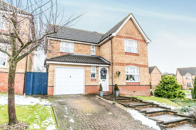 Thumbnail Detached house for sale in Highfields, Halstead