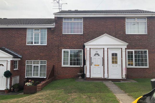 Thumbnail 2 bed flat to rent in Bramcote Drive, Retford
