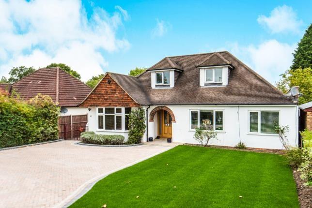Thumbnail Detached house for sale in Burpham, Guildford, Surrey