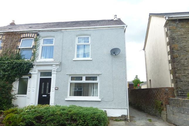 Thumbnail Semi-detached house to rent in Wernddu Road, Ammanford, Carmarthenshire.