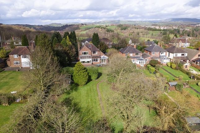Thumbnail Detached house for sale in Ladderedge, Leek