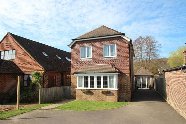 Thumbnail Detached house for sale in New Road, Wonersh, Guildford