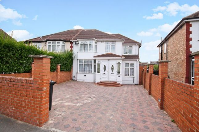 Thumbnail Semi-detached house for sale in Sandringham Road, Northolt