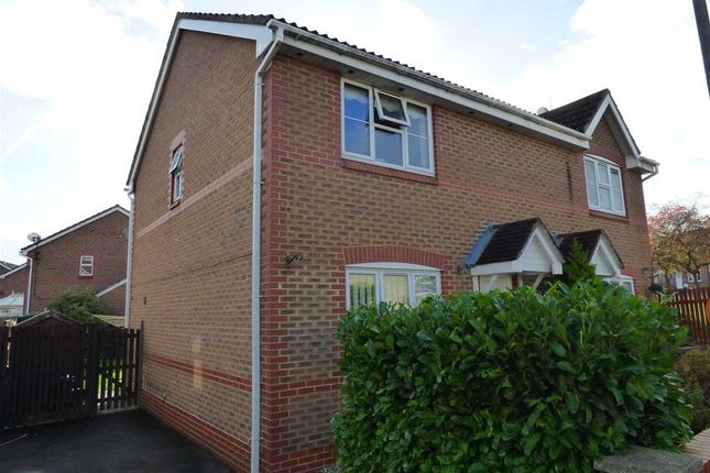 Thumbnail Semi-detached house to rent in St. Annes Crescent, Undy, Caldicot