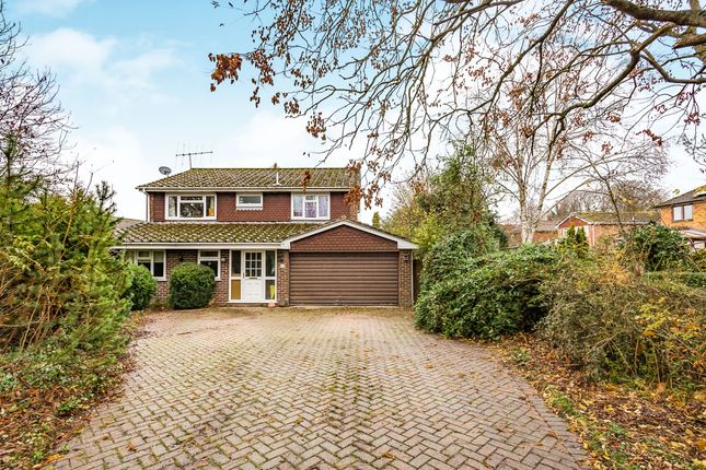 Thumbnail Detached house to rent in Heron Way, Basingstoke