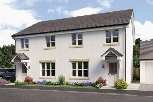 "Thumbnail Semi-detached house for sale in ""Munro Semi"" at Kingsfield Drive, Newtongrange, Dalkeith"