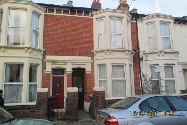Thumbnail Terraced house to rent in Margate Road, Southsea