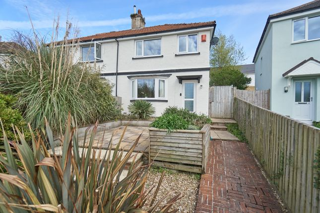Thumbnail Semi-detached house for sale in Coombe View, Plymouth