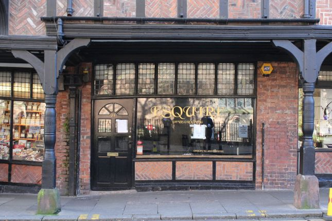 Thumbnail Retail premises to let in St Weburgh Street, Chester