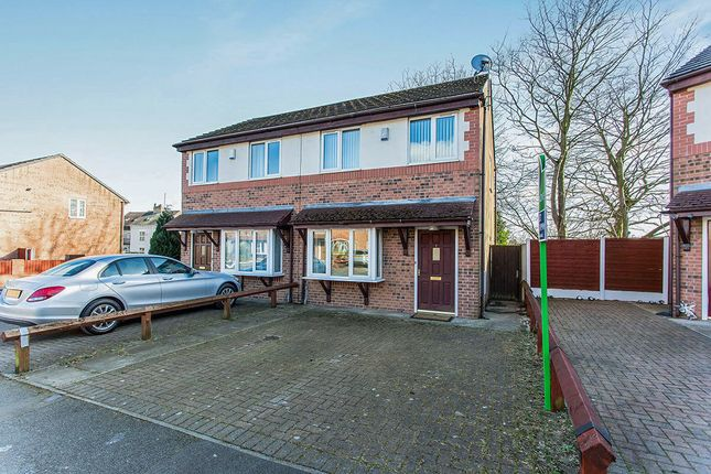 Thumbnail Semi-detached house to rent in Sandywood, Salford