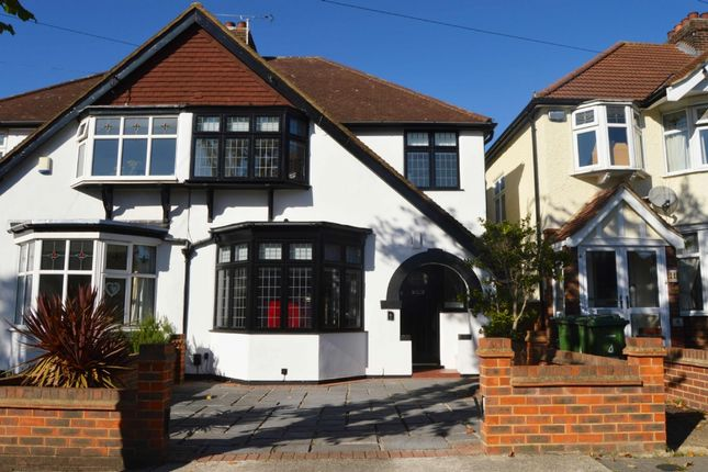 Thumbnail Semi-detached house for sale in Hill Grove, Romford