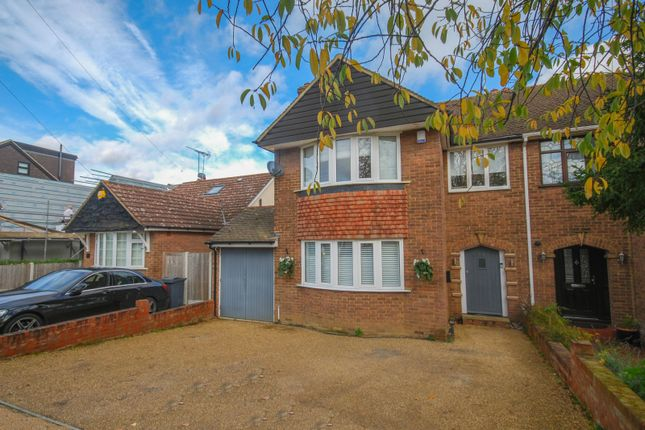 Thumbnail Semi-detached house for sale in Rochford Avenue, Shenfield, Brentwood, Essex