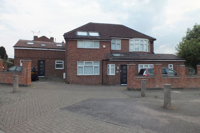 Thumbnail Detached house for sale in Plymouth Drive, Leicester