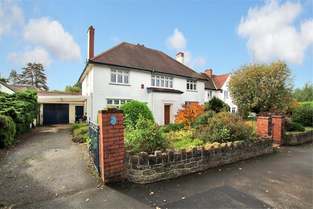 Thumbnail Detached house for sale in Llandennis Avenue, Cyncoed, Cardiff