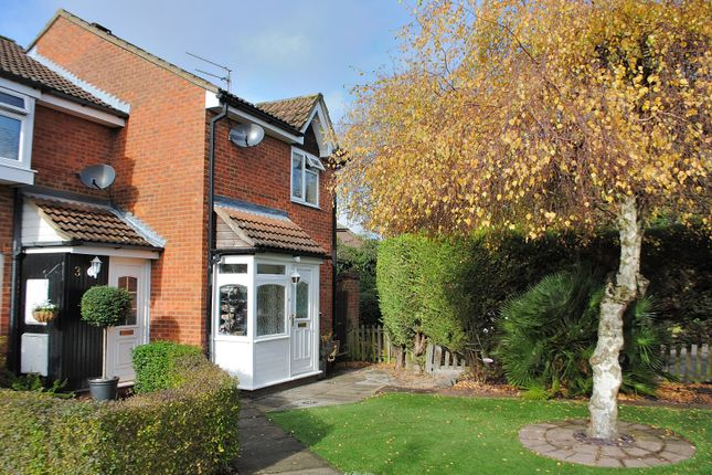 Thumbnail End terrace house for sale in Rushleigh Green, Bishop's Stortford, Hertfordshire
