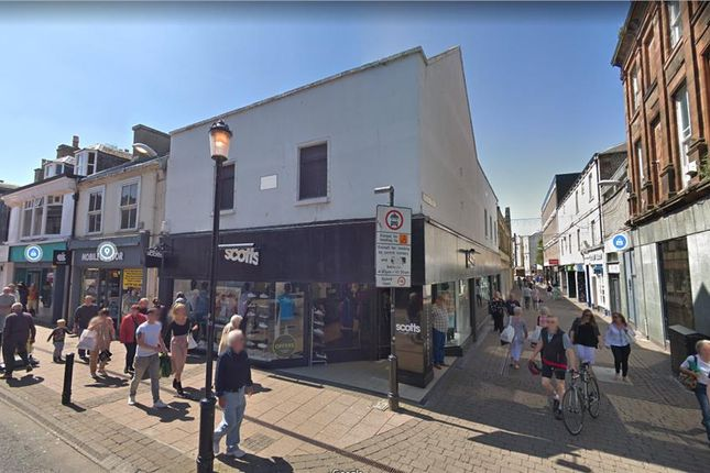 Thumbnail Retail premises to let in 159-161 High Street, Ayr, South Ayrshire