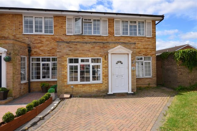 Thumbnail Semi-detached house for sale in Wheatfield Close, Maidenhead, Berkshire