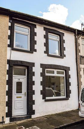 Thumbnail Terraced house for sale in Woodland Road, Pontygwaith