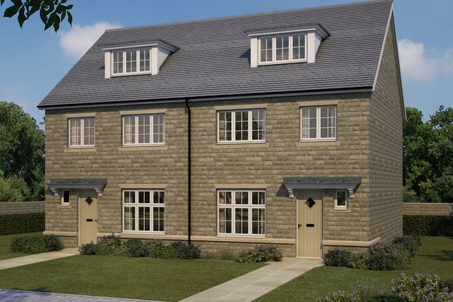 Thumbnail Semi-detached house for sale in Woodlands, Wood Bottom, Leeds, West Yorkshire
