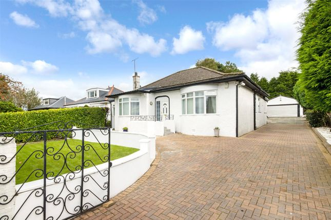 Thumbnail Bungalow for sale in Windlaw Road, Carmunnock, Clarkston, Glasgow
