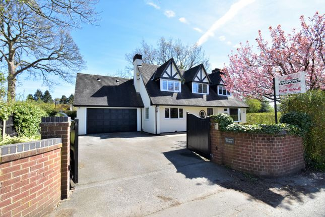 Thumbnail Detached house for sale in Old Hall Lane, Woodford, Stockport