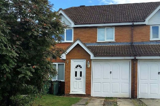 Thumbnail Semi-detached house to rent in Muntjack Road, Whetstone, Leicester