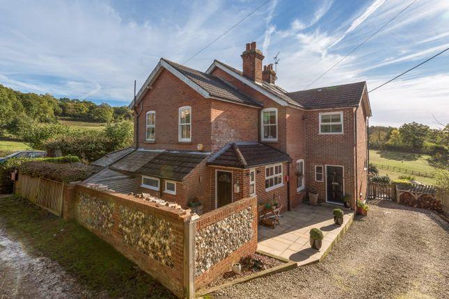 Thumbnail Semi-detached house for sale in South View, Warren Corner, Ewshot, Surrey