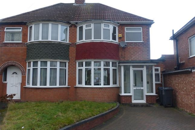 Thumbnail Property to rent in The Rise, Great Barr, Birmingham