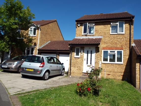 Link-detached house for sale in Foley Close, Willesborough, Ashford, Kent