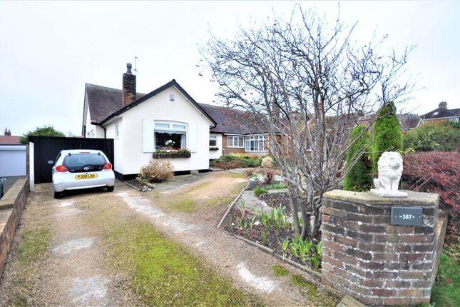 Thumbnail Semi-detached bungalow for sale in Devonshire Road, Blackpool, Lancashire