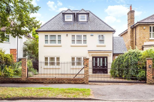 Thumbnail Detached house for sale in Wolsey Road, East Molesey, Surrey