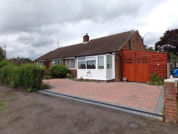 Thumbnail Bungalow for sale in Tudor Close, Bromham, Bedford, Bedfordshire