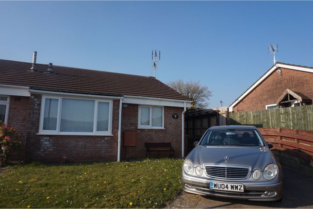 Thumbnail Semi-detached bungalow for sale in Lon Y Fran, Glenfields, Caerphilly