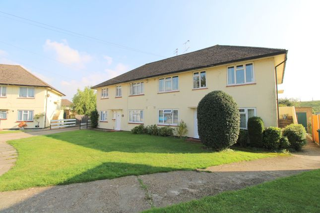 Thumbnail Maisonette for sale in Selwood Close, Stanwell, Staines