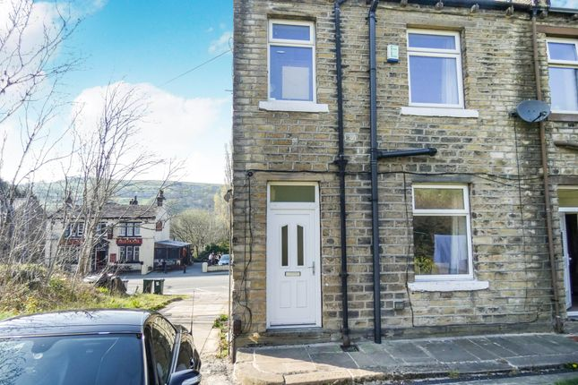 Thumbnail 2 bed terraced house for sale in Manchester Road, Linthwaite, Huddersfield