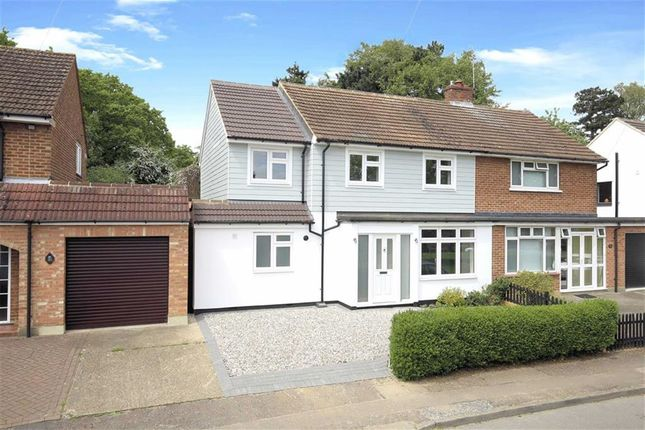 Thumbnail Semi-detached house for sale in Western Avenue, Epping