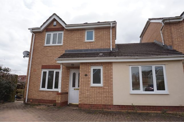 Thumbnail Link-detached house for sale in Heather Court, Treharris