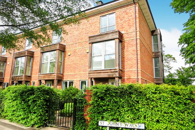 Thumbnail Town house for sale in St. Johns Walk, York