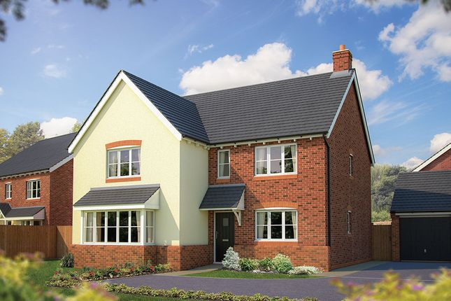 "Thumbnail Detached house for sale in ""The Arundel"" at The Poppies, Meadow Lane, Moulton, Northwich"