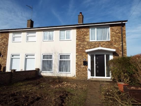 Thumbnail Semi-detached house for sale in Bandley Rise, Stevenage, Hertfordshire, England