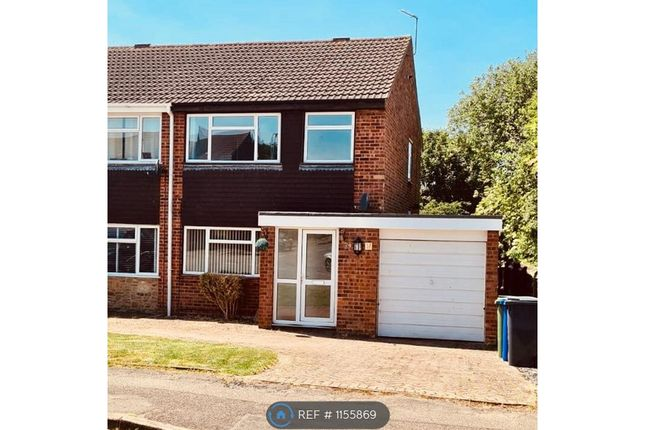 Thumbnail Semi-detached house to rent in Meadway, Bugbrooke, Northampton