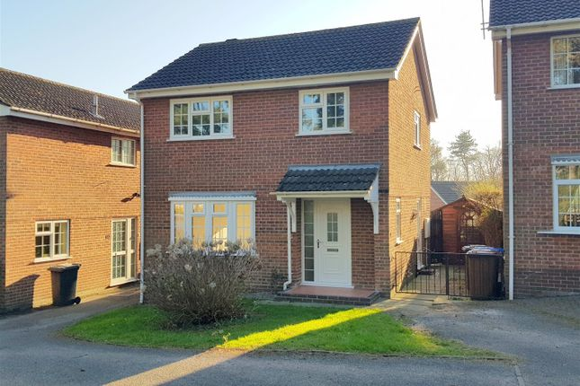 Thumbnail Detached house for sale in Ingham Drive, Mickleover, Derby