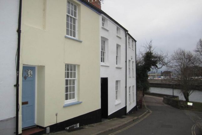 Thumbnail Terraced house to rent in Colleton Hill, St. Leonards, Exeter