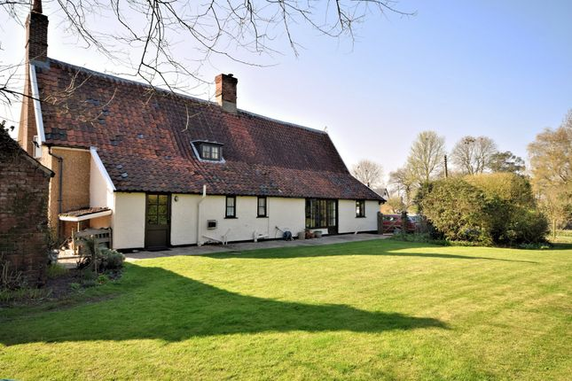Thumbnail Detached house for sale in Bunwell Street, Bunwell, Norwich