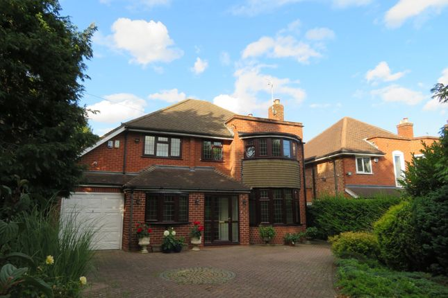 Thumbnail Detached house to rent in Dorchester Road, Solihull