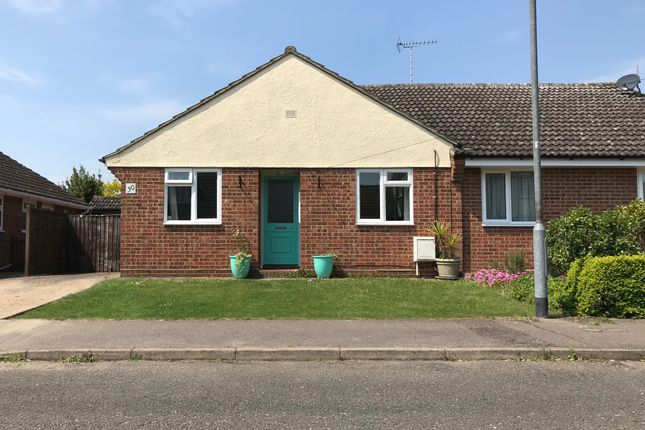 Thumbnail Semi-detached bungalow for sale in Rosemary Crescent Tiptree, Colchester, Colchester