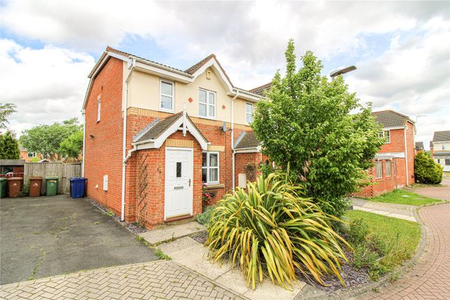 2 bed semi-detached house for sale in Belgrave Road, Scartho Top, Grimsby DN33